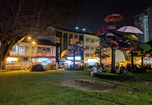 Un parc dans little India